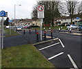 ST3096 : Edlogan Way traffic calming, Croesyceiliog, Cwmbran by Jaggery