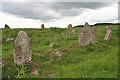 NO9096 : Aquhorthies Recumbent Stone Circle (1) by Anne Burgess