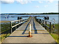 SY9890 : Pier at Ham Common : Week 26