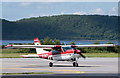 NM9035 : D-ENCY at Oban Airport (1) by TheTurfBurner