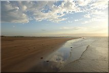 NU1143 : Start of Goswick Sands by DS Pugh