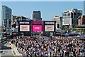 SJ3390 : Very Big Catwalk event, Pier Head, Liverpool by El Pollock