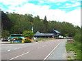 NM9080 : A830 road passing Glenfinnan by Malc McDonald