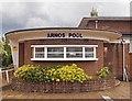 TQ2992 : Entrance, Arnos Pool, Arnos Grove by Julian Osley