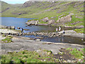 NG4819 : Stepping stones over the Scavaig River by Oliver Dixon