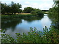 TL0899 : The River Nene east of Wansford by Richard Humphrey