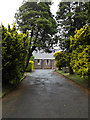 SS7196 : Coedffranc Cemetery entrance, Skewen by Adrian Cable