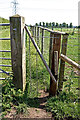 SJ6678 : Unusual wicket gate by Anthony O'Neil