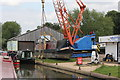 SP6458 : Stowe Hill Workshop, Stowe Hill Wharf, Grand Union Canal, Stowehill by Jo Turner