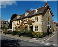 ST9387 : Victorian houses on the corner of Abbey Row and Mill Lane, Malmesbury by Jaggery