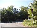 SU9271 : Lovel Lane at the junction of Hatchet Lane by David Howard