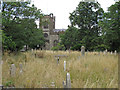 "TQ5084 : Looking to the church, ""God's Little Acre"" Dagenham Parish Churchyard by Roger Jones"