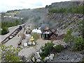 NY3224 : Threlkeld Quarry & Mining Museum - quarry by Chris Allen