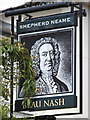 TQ5839 : Beau Nash sign by Oast House Archive