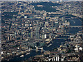 TQ3380 : Tower Bridge and London from the air by Thomas Nugent