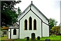 NN2181 : Kilmonivaig Church - chancel and vestry by Tiger