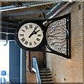 SJ8497 : Wall clock at Piccadilly Station : Week 31