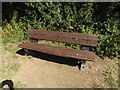 TL0652 : Seat in Mowsbury Park by Adrian Cable