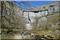 SD8964 : Malham Beck and Malham Cove by N Chadwick
