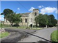 Dist:0.2km<br/>The surprisingly large Parish Church (or Kirk) in the village of Hutton. The building is category B listed (http://data.historic-scotland.gov.uk/pls/htmldb/f?p=2200:15:0::::BUILDING,HL:6815,hutton church) and dates from 1839.