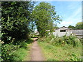 TL1545 : Bridleway into Ickwell by Bikeboy