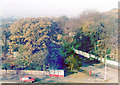 TQ3371 : Autumn view north from Raleigh Court, over Dulwich Wood, 1982 by Ben Brooksbank