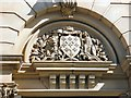SJ8990 : Bank Chambers: Architectural detail by Gerald England