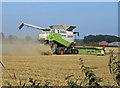 TA0615 : Combining near Wootton Grange : Week 34