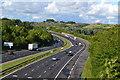 SU4725 : M27 near Shawford : Week 34