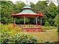 SJ3787 : Bandstand in Sefton Park by David Dixon