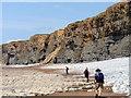 SS9070 : Clogwynni Traeth Mawr Cliffs by Alan Richards