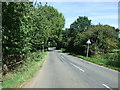 TL0636 : Minor road near Hollington Basin by JThomas