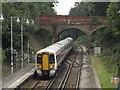 TQ7515 : Train leaving Battle station by Malc McDonald