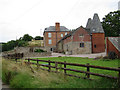 SO5945 : Oast House at Lower Castleton, Westhide by Oast House Archive