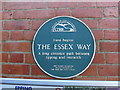 Photo of Essex Way green plaque