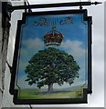 TF0657 : Sign for the Royal Oak, Scopwick by JThomas