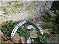 SD5471 : Detritus inside Gamekeeper's Tower, Capernwray by Karl and Ali