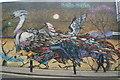 TQ3381 : View of a wall of street art on Hanbury Street #2 : Week 37