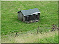 SE0847 : Shed at Over Gate Croft by Neil Theasby