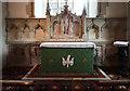 TL3044 : St Michael, Abington Pigotts - Sanctuary by John Salmon