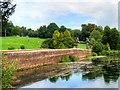 SK3820 : The Dam and Southern Lake at Staunton Harold by David Dixon