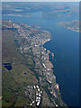 NS3373 : The Firth of Clyde from the air : Week 37