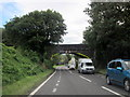 SX3359 : Rail Bridge Over A38 Trerulefoot by Roy Hughes