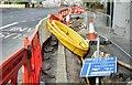 J3674 : EWAY works, Upper Newtownards Road, Belfast - September 2015(1) by Albert Bridge
