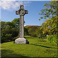 SO4593 : Church Stretton War Memorial : Week 39