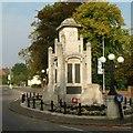 SK5878 : Worksop Town War Memorial by Alan Murray-Rust