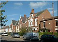 SK6980 : Villas on Queen Street by Alan Murray-Rust