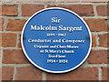Photo of Malcolm Sargent blue plaque