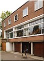 TQ2785 : 2 Willow Road, Hampstead by Julian Osley