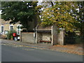 TL5284 : Bus stop and shelter on Main Street, Little Downham by JThomas